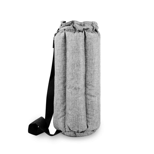 "Woven Grey 14"" Vatra Padded Tube Bag for Bongs and Water Pipes"