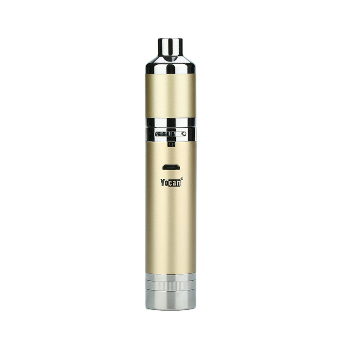 Champagne Gold Yocan Evolve Plus XL Concentrate Vaporizer