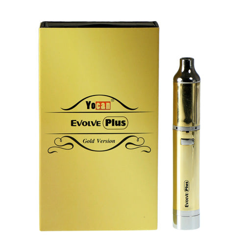 Gold Yocan Evolve Plus Concentrate Pen
