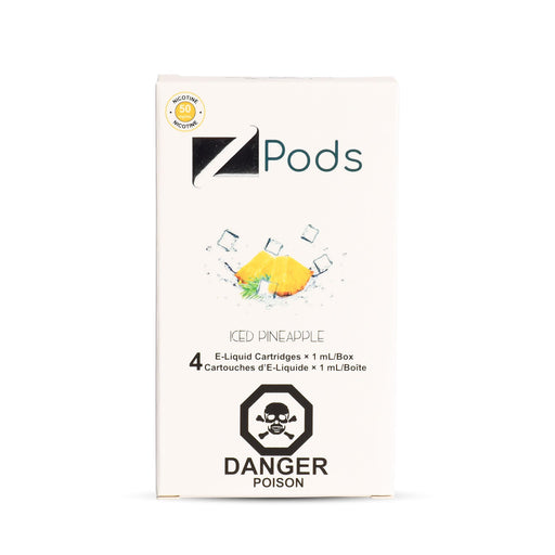 Iced Pineapple Nic Salt Ziip Pods Vancouver