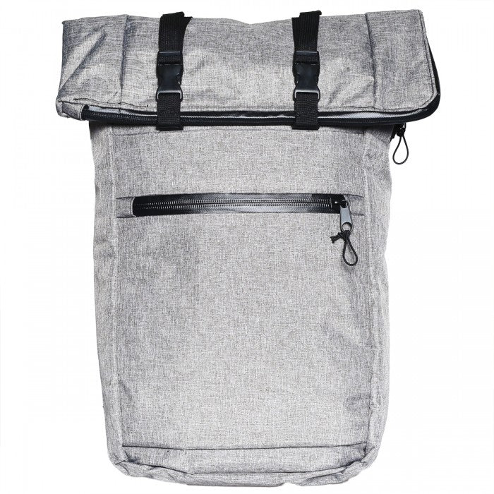 Smell Proof Fold Down Expandable Back Pack with Carbon Lining