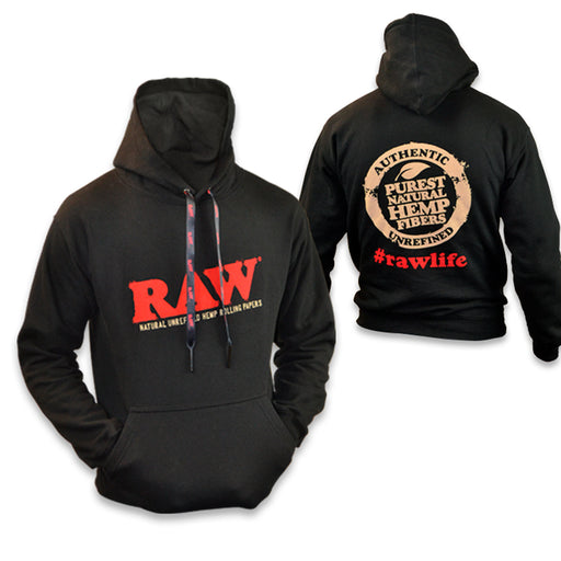 RAW Hoodie Pull Over Sizes Canada