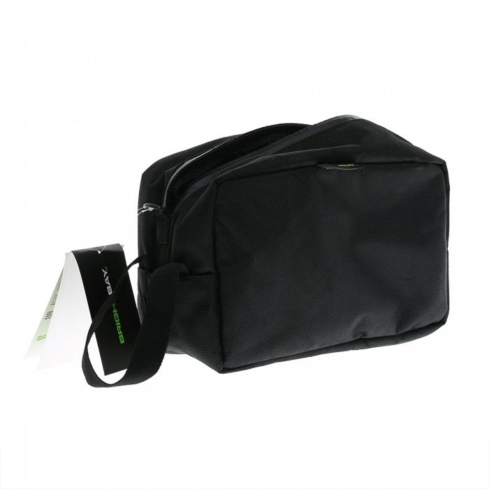 Smell proof carbon lined toiletry travel bag