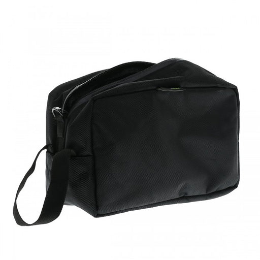 Carbon lined toiletry bag