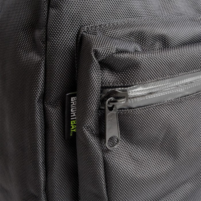 Black Carbon Lined Backpack Smell Proof
