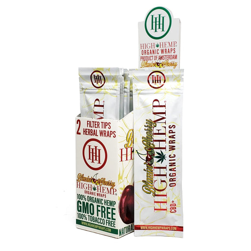 Blazin Cherry High Hemp Wraps Organic Canada