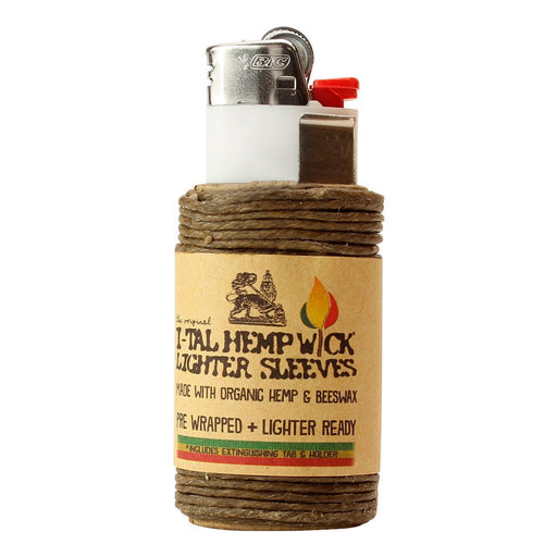 Hemp Wick Lighter Wrap Canada