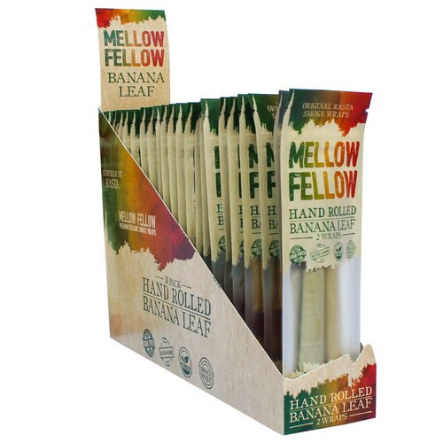 Mellow Fellow Hand Rolled Wraps - Banana Leaf