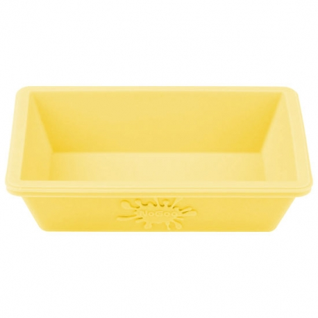 NoGoo NonStick Small Silicone Dish Yellow