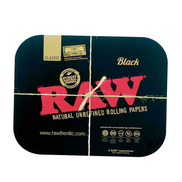 Large RAW Black Magnetic Tray Cover for sale Canada