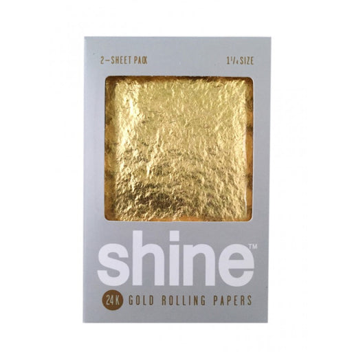 Shine 24k Gold 1-1/4 Rolling Papers Canada