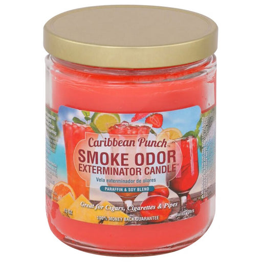 Caribbean Punch Smoke Odor Exterminator Candle