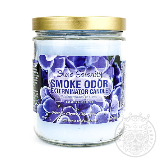 Blue Serenity Smoke Odor Candle