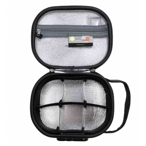 STASHLOGIX Silverton Smell Proof and Lockable Travel Case Medium