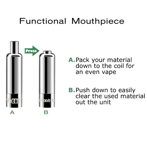 Yocan Evolve-D Functional Mouth Piece Vaporizer