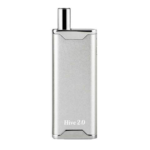 Silver Yocan Hive 2.0 Concentrate Vaporizer and E-Cig in one