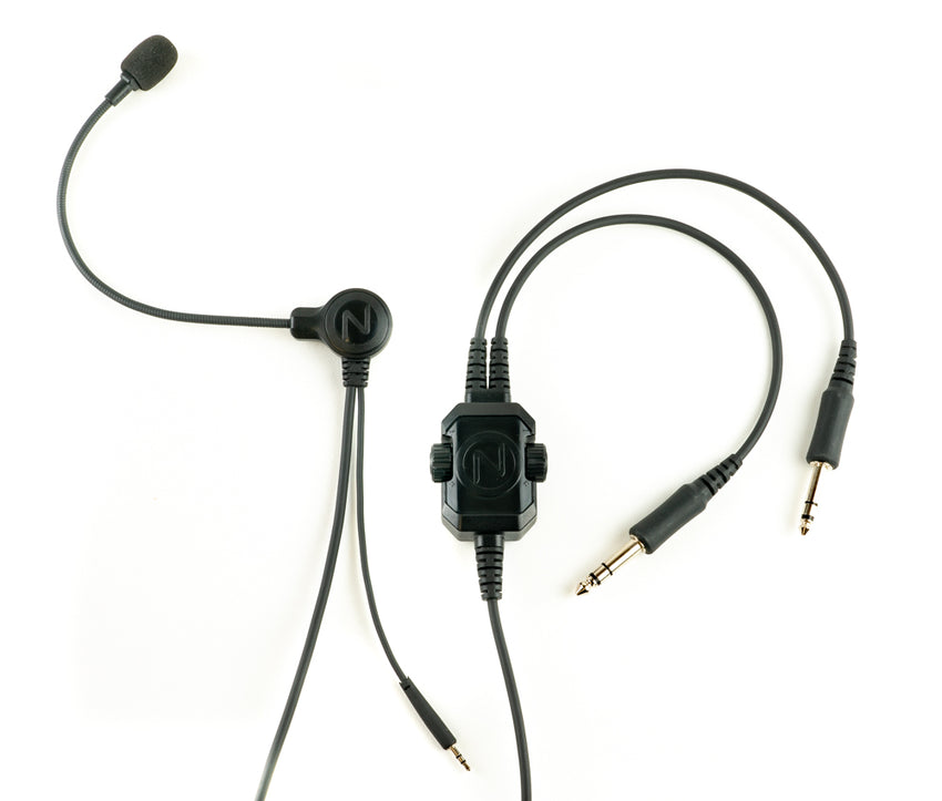 NFlightMic Nomad Aviation Microphone (Pro Version)