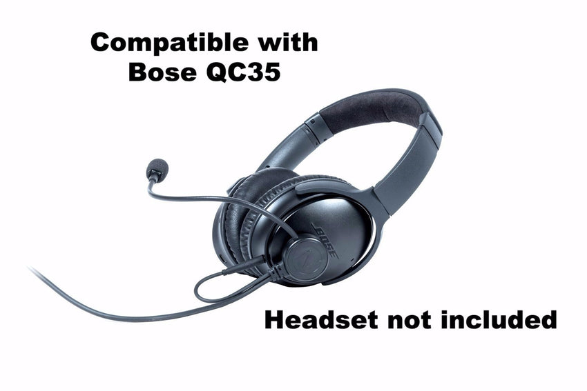 NflightMic compatible with Bose QC35