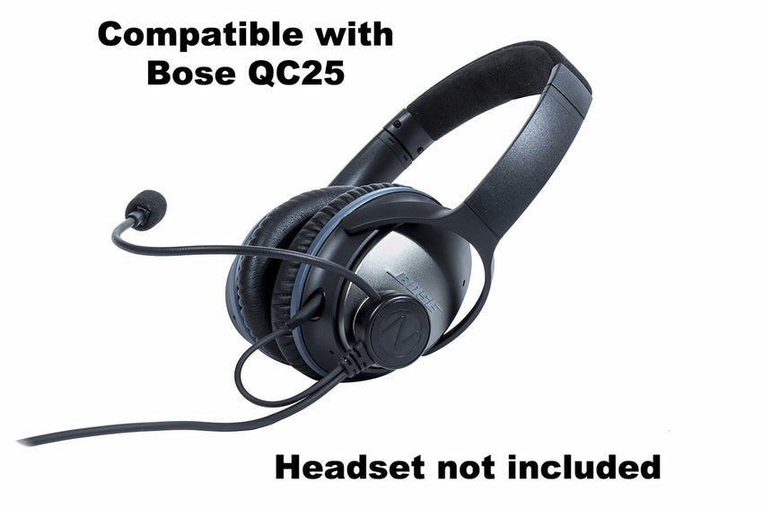NflightMic compatible with Bose QC25