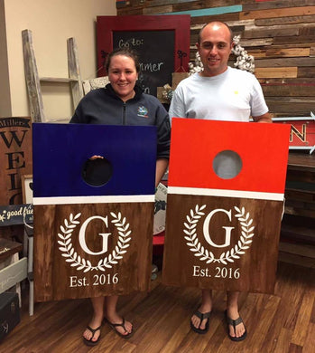 5/25/2019 Father's Day is fast Approaching- Customize Cornhole Boards (Saturday 10am)