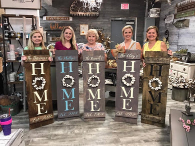 06/01/2018 (6:30pm) Pick Your Own Home Sign Workshop (Pooler, GA)