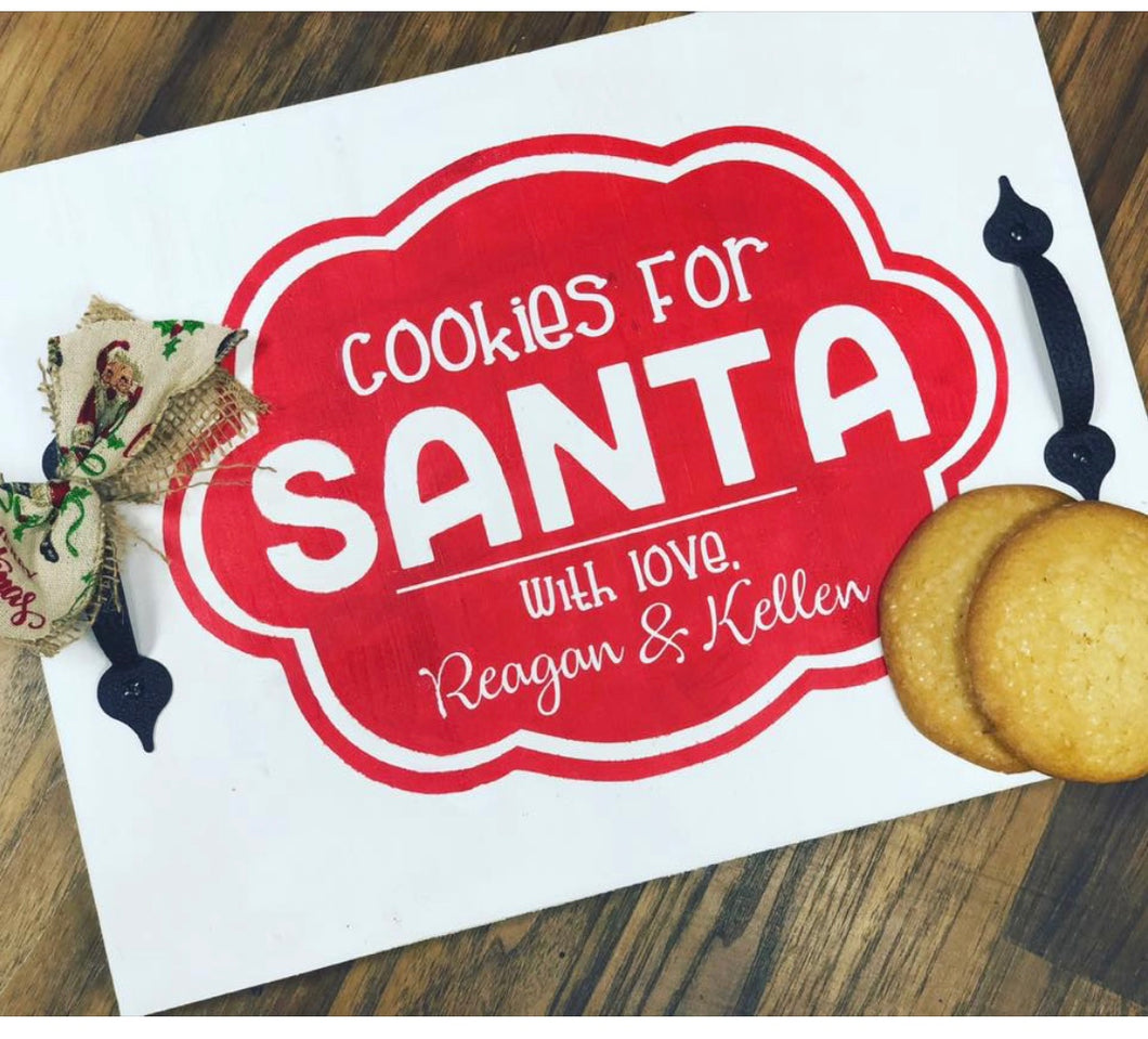12/8/18  Santa Trays - 11 am - 1:30 pm at