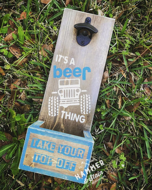 05/24/2019 (Friday-6:30pm) Beer Opener Workshop