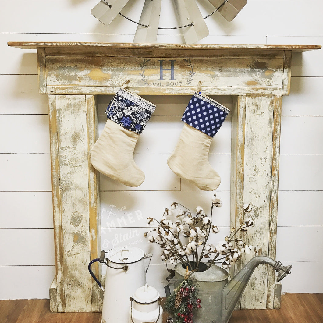 12/03/2017 (2pm) Personalized Fireplace Mantel (Ocala)