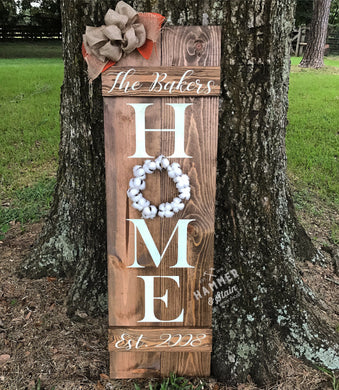 Rustic Shutter w/wreath (Choose your colors)
