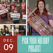 12/09/2017 (6pm) Pick Your Holiday Project (Ocala)