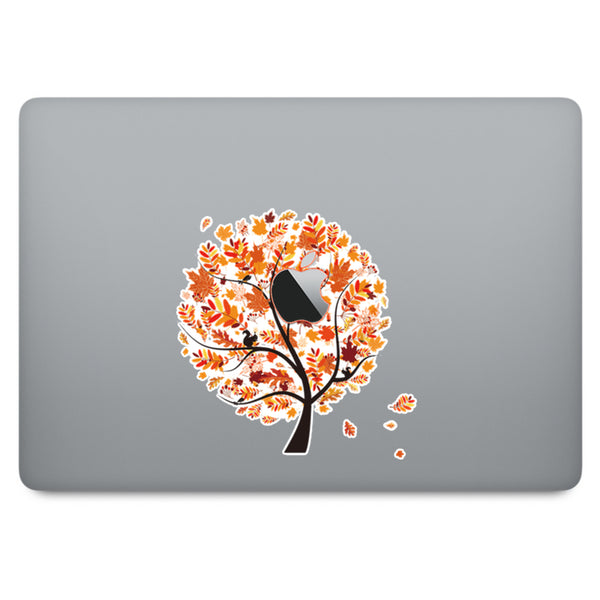 Autumn Tree MacBook Decal