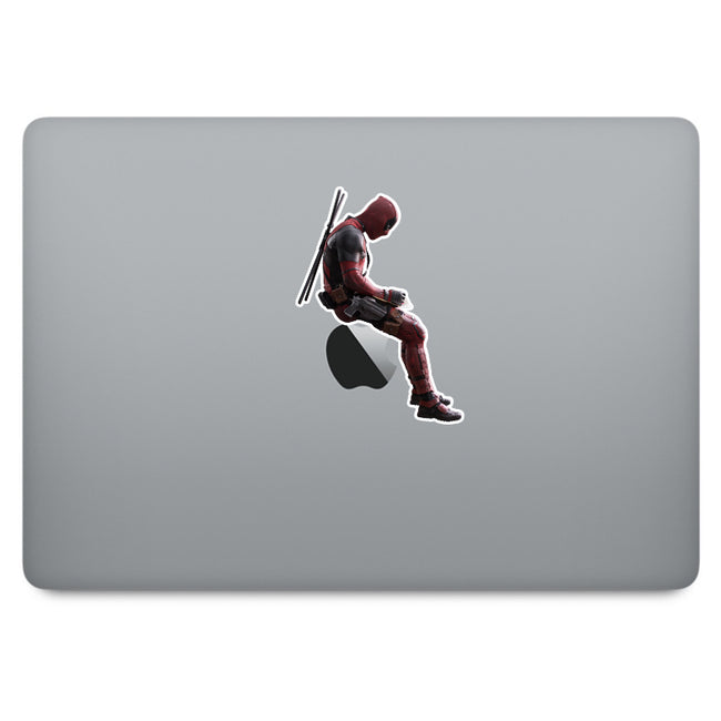 Deadpool MacBook Decal V3