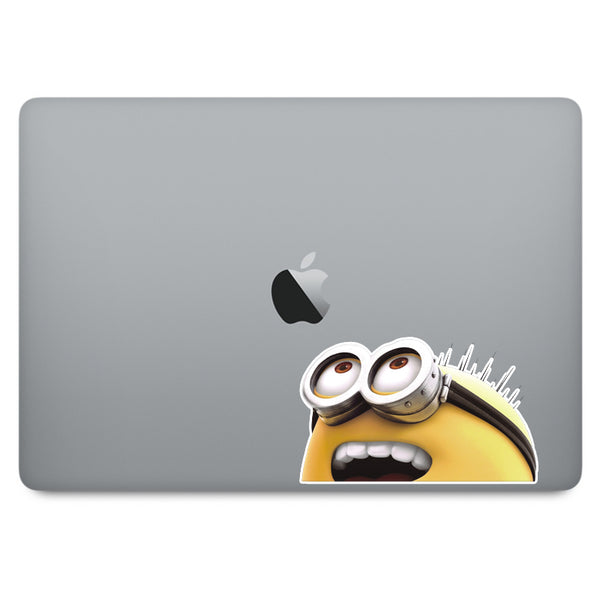Despicable Me Minion MacBook Decal V1