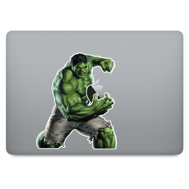 Incredible Hulk MacBook Decal