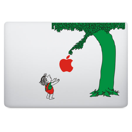 Four Seasons Tree MacBook Decal