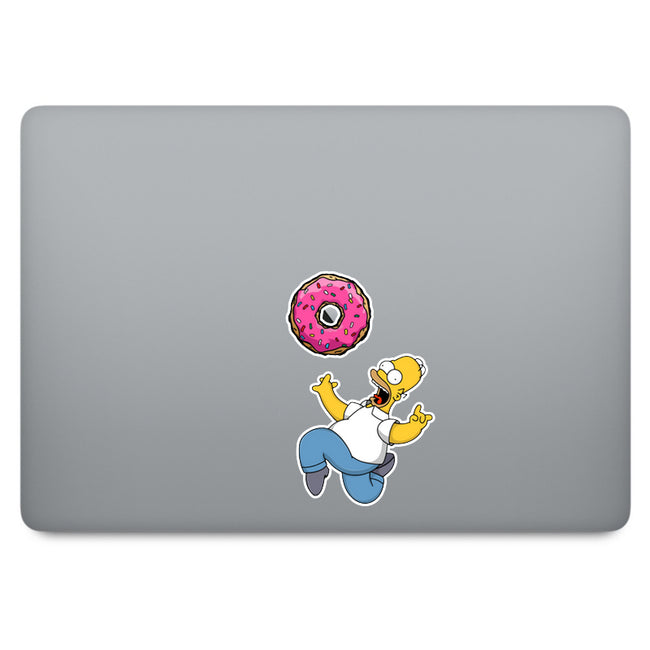 Simpson Homer MacBook Decal V4