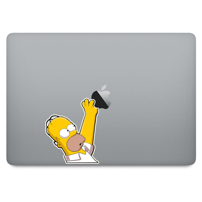 Simpson Homer MacBook Decal V1