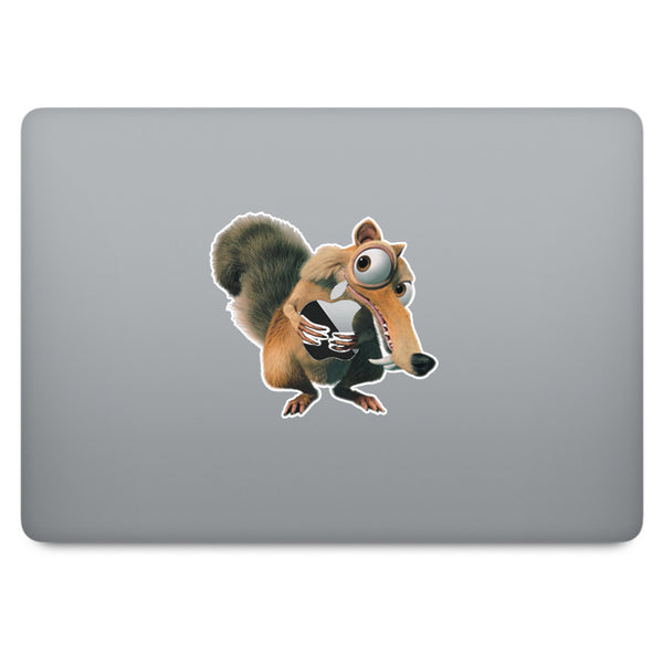 Ice Age Scrat MacBook Decal V1