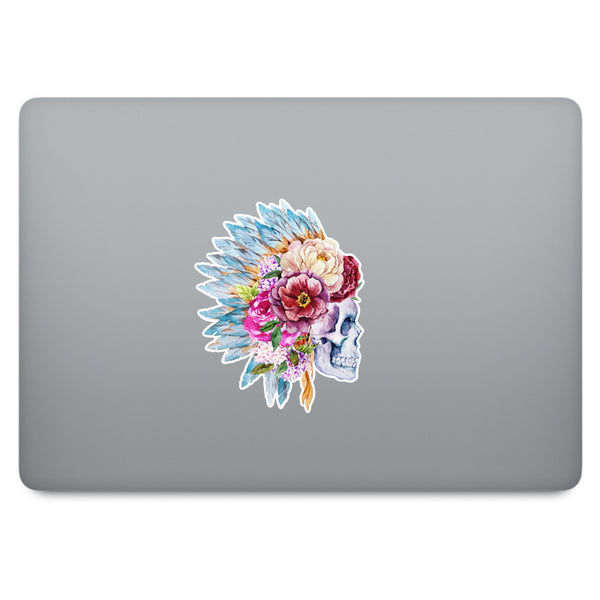 Skull MacBook Decal