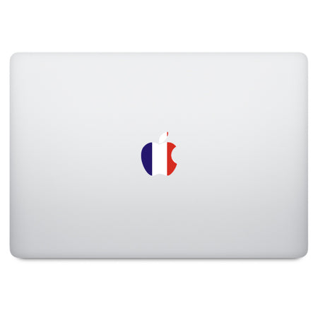 Captain America Shield Apple Logo MacBook Decal