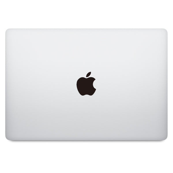 Black Apple Logo MacBook Decal