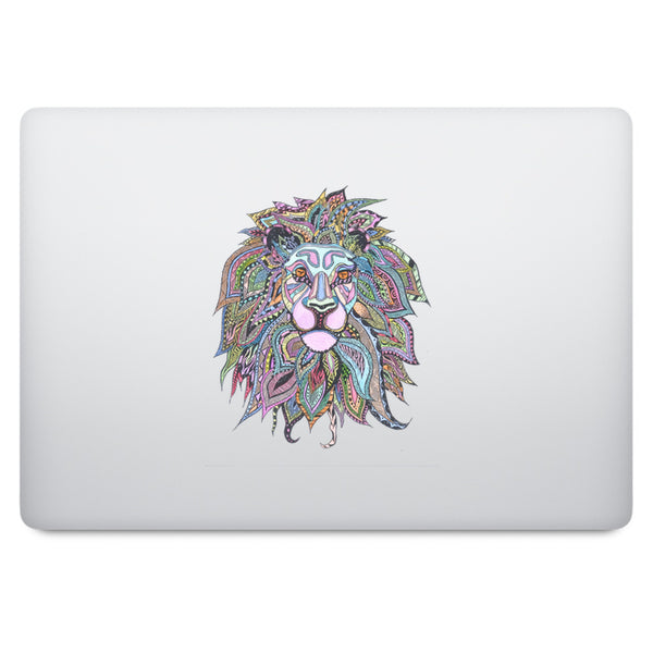 Mandala Lion MacBook Decal