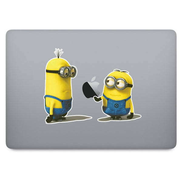 Despicable Me Minion MacBook Decal V2