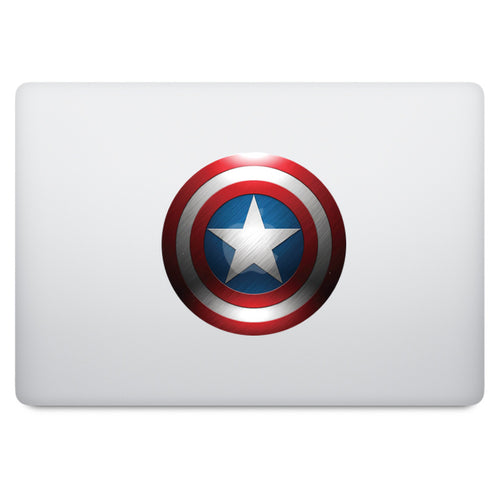 Captain America Shield MacBook Decal V1