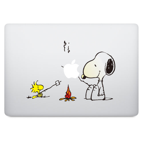 Snoopy BBQ MacBook Decal