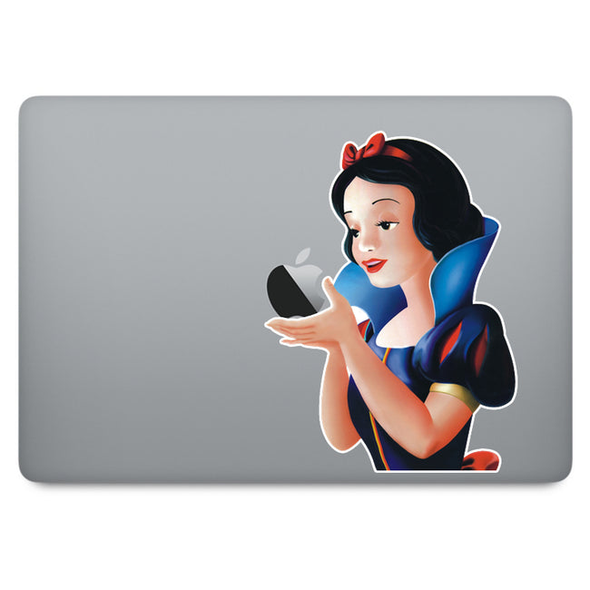 Snow White MacBook Decal V1