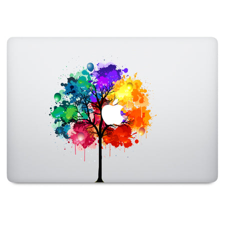 Sponge Bob Apple Logo MacBook Decal V1