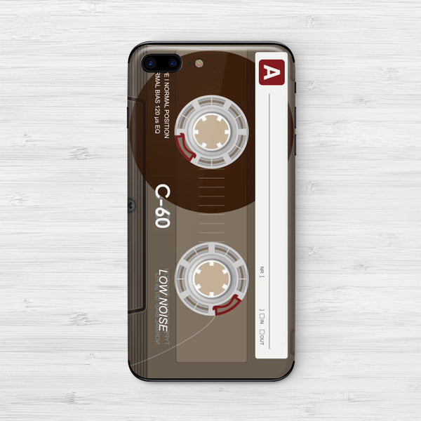 Retro Cassette iPhone Decal