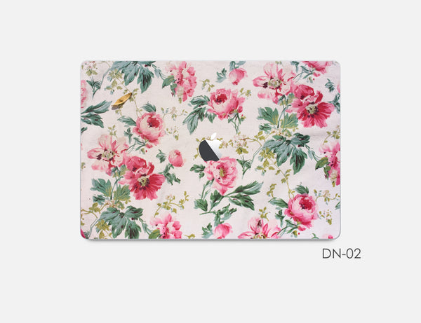 Floral MacBook Skin Decal