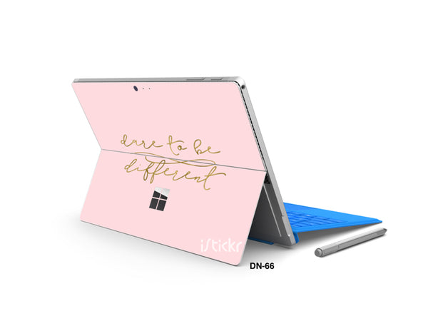 City and Quotes Surface Pro Decal